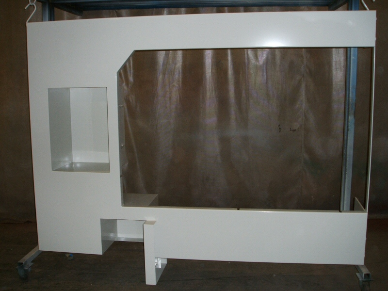 Photo - Example of Powder Coating for Bradshaw Sheet Metal of Bolton