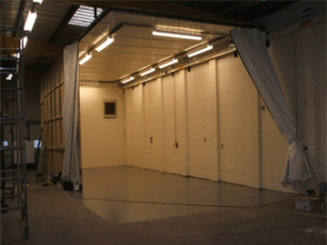 Photo - A shot of our sizeable spray booth